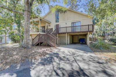 Beaufort County Single Family Home For Sale: 110 N Forest Beach Drive