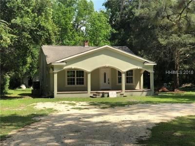 Jasper County Single Family Home For Sale: 670 Sisters Ferry Road