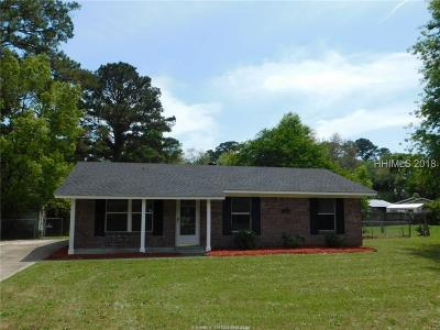 Beaufort Single Family Home For Sale: 5614 Frederick Drive