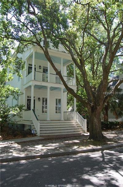Beaufort Single Family Home For Sale: 119 Bartram Drive
