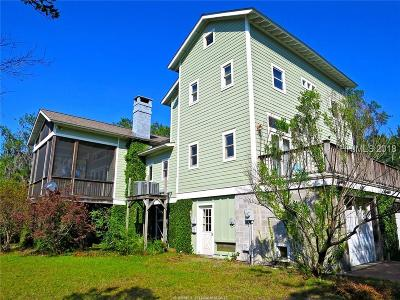 Beaufort Single Family Home For Sale: 1304 Battery Creek Road