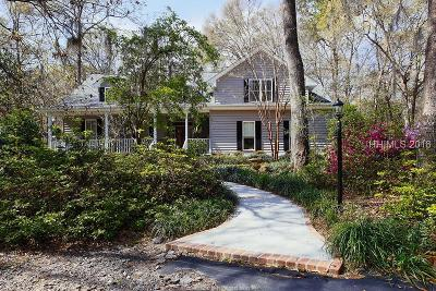 Beaufort Single Family Home For Sale: 110 Marsh Drive