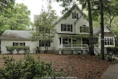 Lady's Island Single Family Home For Sale: 90 Marsh Drive