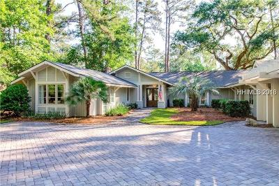 Beaufort County Single Family Home For Sale: 9 Willow Oak Road