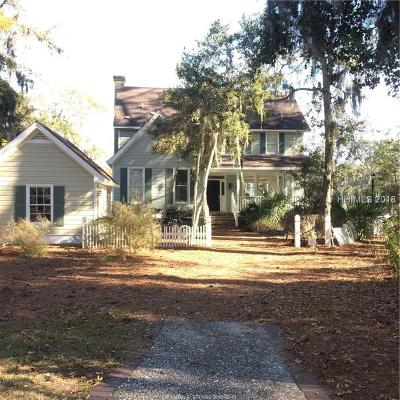Daufuskie Island Single Family Home For Sale: 10 Clubhouse Court
