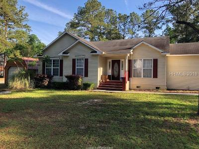 Bluffton Single Family Home For Sale: 3 Frierson Circle