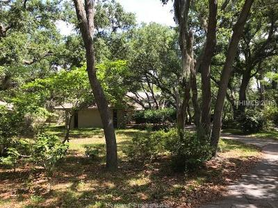 Hilton Head Island Single Family Home For Sale: 20 Doubloon Drive