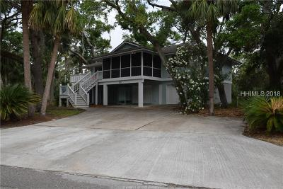Fripp Island Single Family Home For Sale: 379 Wahoo Dr