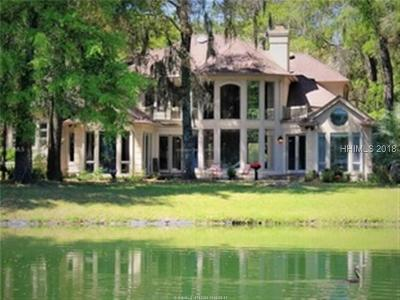 Colleton River Single Family Home For Sale: 15 Ashley Hall Drive