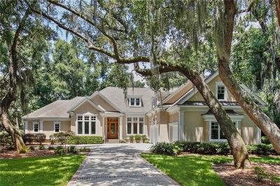 Colleton River Single Family Home For Sale: 19 Hawthorne Road