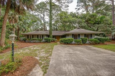Hilton Head Island Single Family Home For Sale: 1 Piping Plover Road