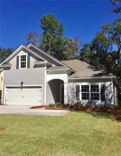 Bluffton Single Family Home For Sale: 296 Club Gate