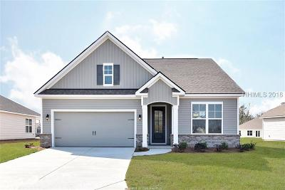 Bluffton SC Single Family Home For Sale: $266,990