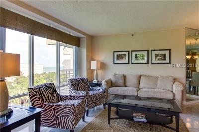 Hilton Head Island Condo/Townhouse For Sale: 1 Ocean Lane #2516