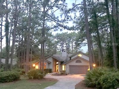 Hilton Head Island Single Family Home For Sale: 4 Bank Swallow Lagoon