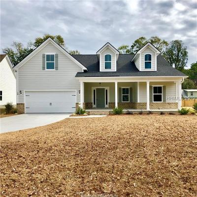 Bluffton Single Family Home For Sale: 19 Pritchard Farms Road