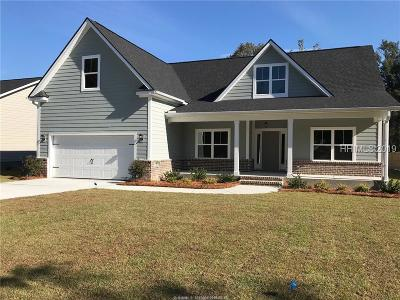 Bluffton Single Family Home For Sale: 15 Pritchard Farms Road