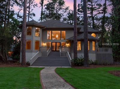 Hilton Head Island Single Family Home For Sale: 42 Sandfiddler Rd