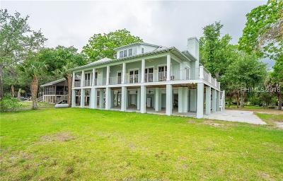 Beaufort Single Family Home For Sale: 302 Perryclear Drive