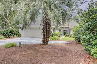 Hilton Head Island Single Family Home For Sale: 8 Brewton Court