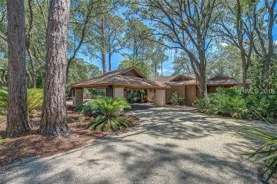 Hilton Head Island Single Family Home For Sale: 22 Audubon Pond Road