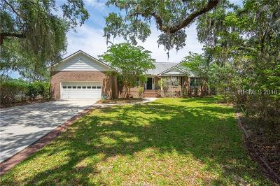 Beaufort Single Family Home For Sale: 311 Pleasant Point Drive