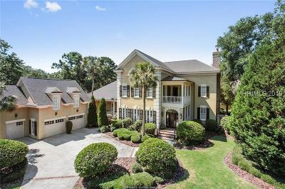 Colleton River Single Family Home For Sale: 12 Bayley Road