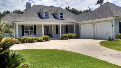 Hilton Head Island Single Family Home For Sale: 19 Clyde Lane