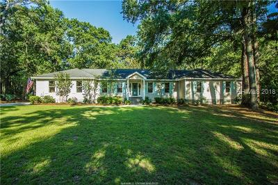 Beaufort Single Family Home For Sale: 6 Spring Knob Circle