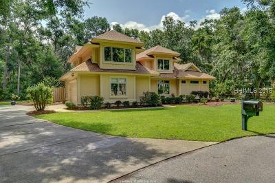 Beaufort County Single Family Home For Sale: 24 Whitney Place