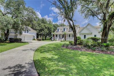 Bluffton Single Family Home For Sale: 27 Oldfield Way