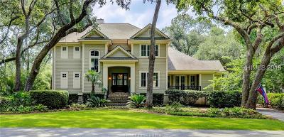 Hilton Head Island Single Family Home For Sale: 351 Greenwood Drive