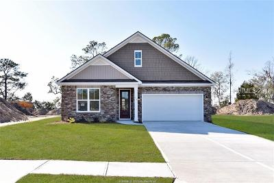 Bluffton SC Single Family Home For Sale: $326,990