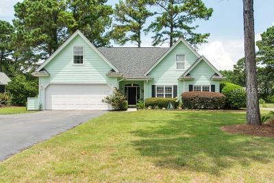 Bluffton Single Family Home For Sale: 2 Tillinghast Circle