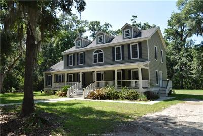 Beaufort Single Family Home For Sale: 7 Najas Lane