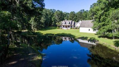 Bluffton Single Family Home For Sale: 16 Rosebud Drive