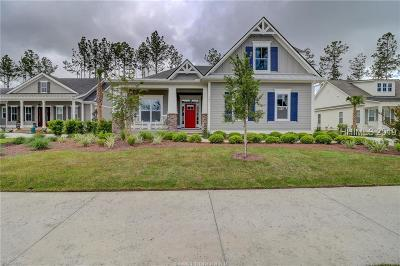 Bluffton Single Family Home For Sale: 141 Flatwater Drive