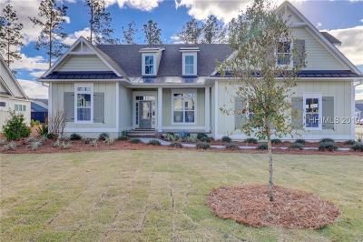 Bluffton Single Family Home For Sale: 149 Flatwater Drive