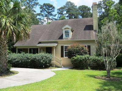 Bluffton Single Family Home For Sale: 9 Kirk Court