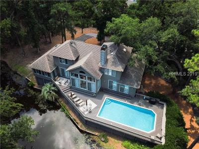 Single Family Home For Sale: 5 Calibogue Cay Road