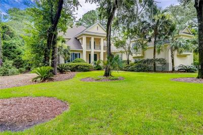 Colleton River Single Family Home For Sale: 1 Spring Hill Court