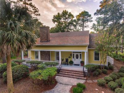 Daufuskie Island Single Family Home For Sale: 4 Wood Duck Court