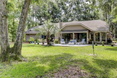 Hilton Head Island Single Family Home For Sale: 52 Timber Lane