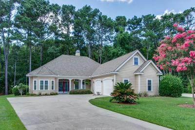 Bluffton, Okatie Single Family Home For Sale: 5 Parkside Court
