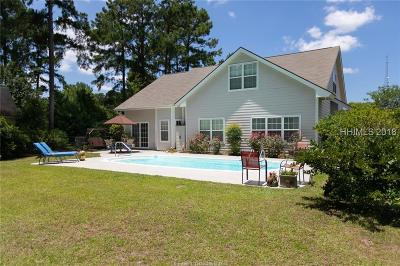 Bluffton Single Family Home For Sale: 1 Stauffer Court
