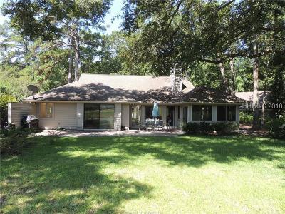 Hilton Head Island Single Family Home For Sale: 5 Deerfield Court