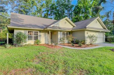 Bluffton Single Family Home For Sale: 27 Bontwell Cir