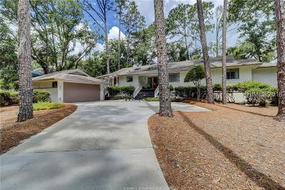 Hilton Head Island Single Family Home For Sale: 43 Sea Lane