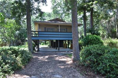 Bluffton Single Family Home For Sale: 12 Myrtle Island Rd