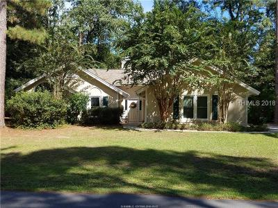 Bluffton Single Family Home For Sale: 1 Peppertree Lane